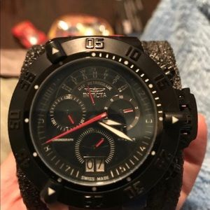 Men's 0877 Subaqua Noma III Chronograph Black Dial